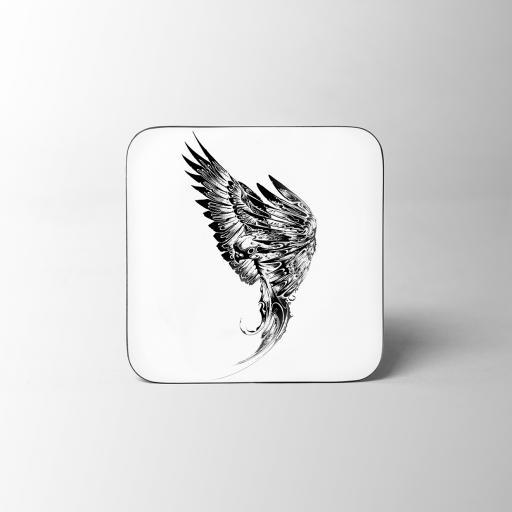 Parakeet Wooden Coaster