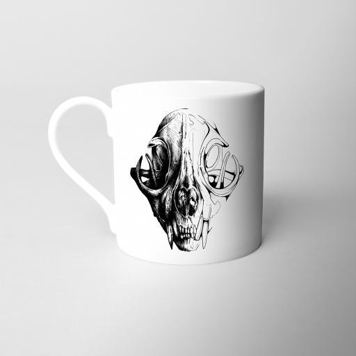 Skull Fine Bone China Mug