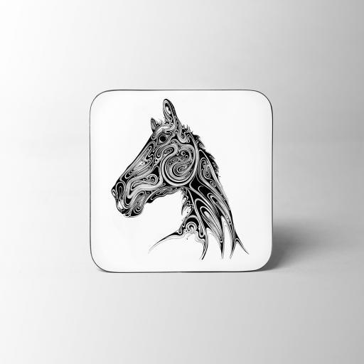 Horse Wooden Coaster