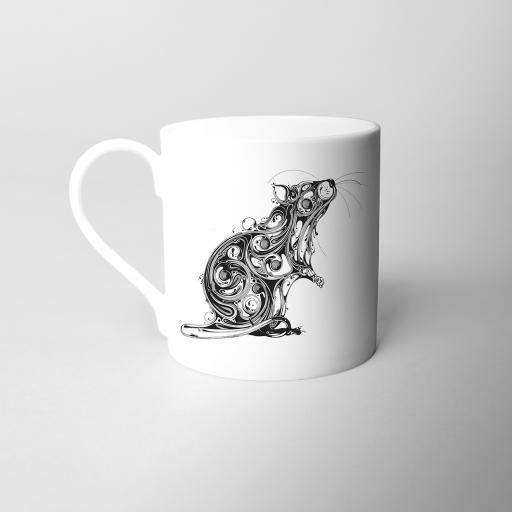 Rat Fine Bone China Mug