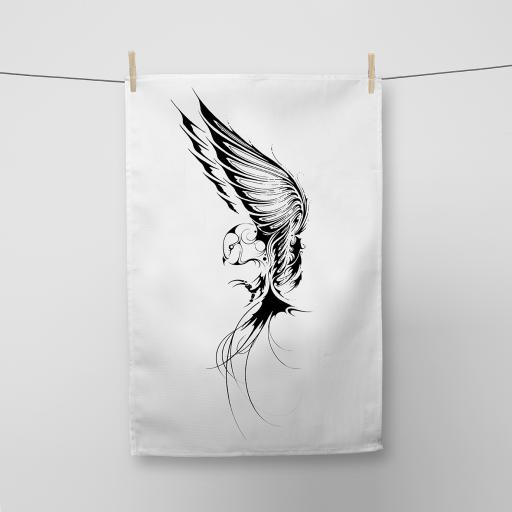 Owl Cotton Tea Towel