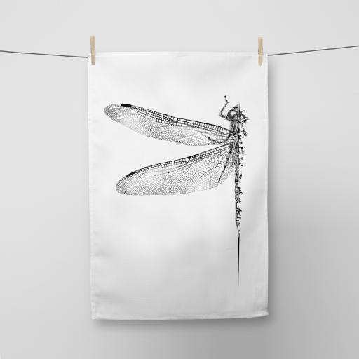 Dragonfly Cotton Tea Towel