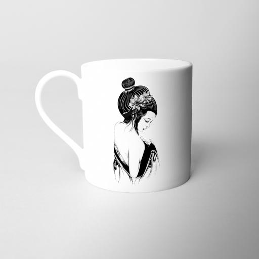 Geisha Fine Bone China Mug