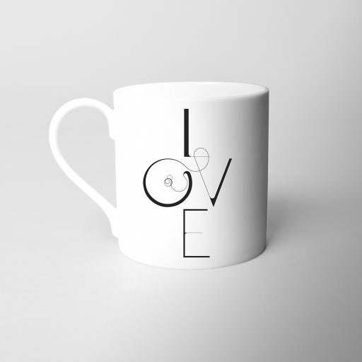 Love Fine Bone China Mug