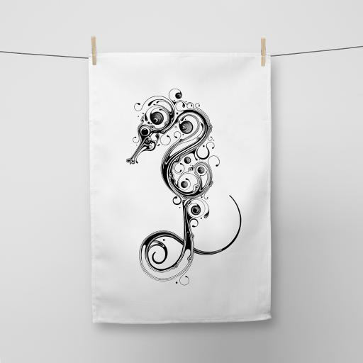 Seahorse Cotton Tea Towel