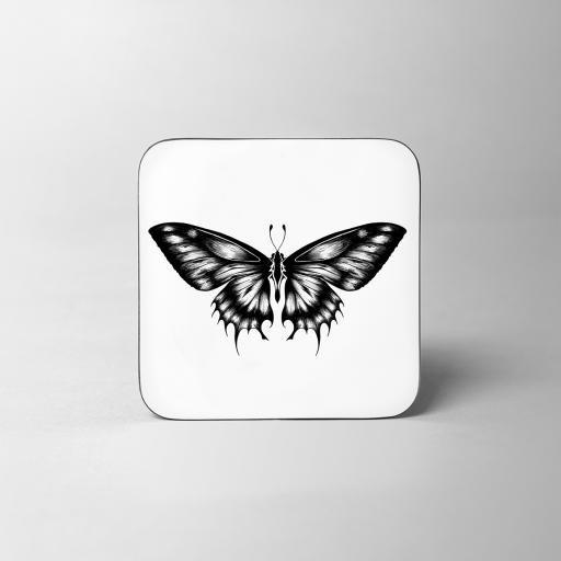 Butterfly Wooden Coaster - SOLD OUT