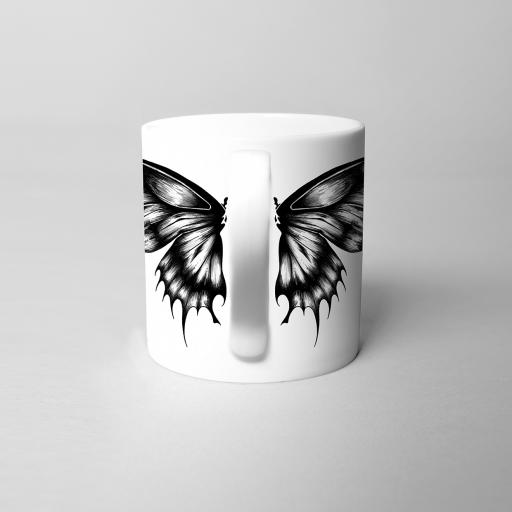 Butterflies Fine Bone China Mug