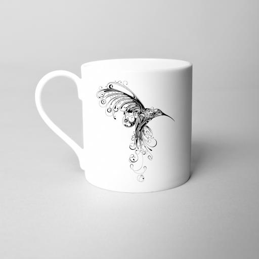 Hummingbird Fine Bone China Mug