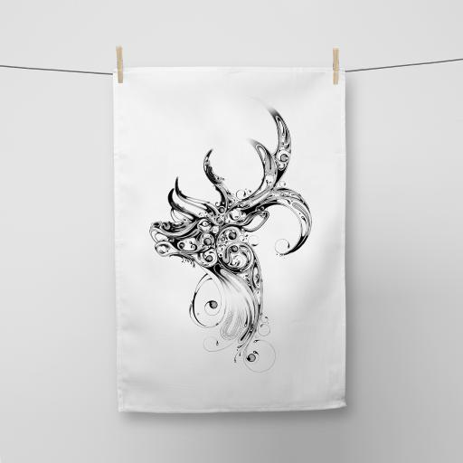 Stag Cotton Tea Towel