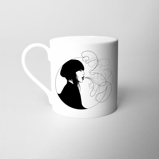 Breathe Fine Bone China Mug