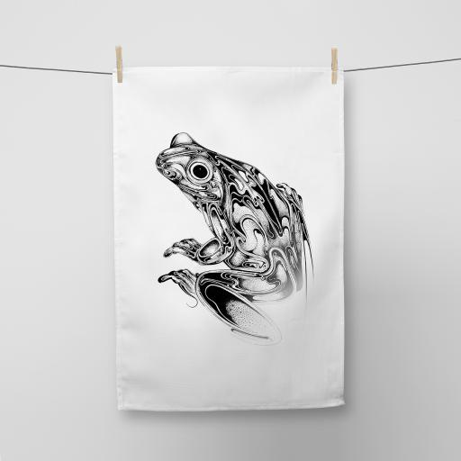 Tree Frog Cotton Tea Towel