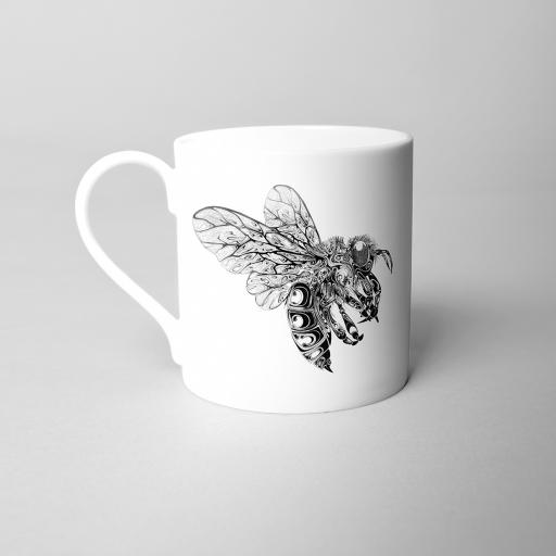 Bee Fine Bone China Mug