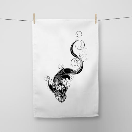 Koi Tea Towel - Seconds