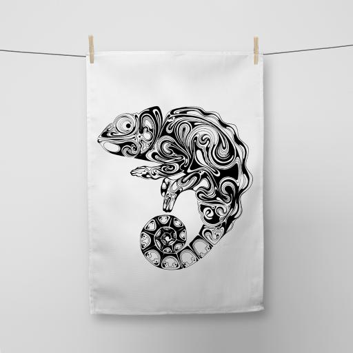 Chameleon Cotton Tea Towel