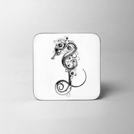 Seahorse Wooden Coaster
