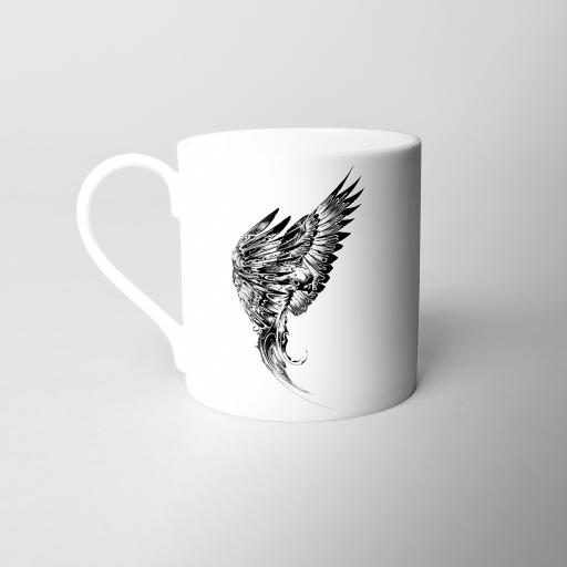 Parakeet Fine Bone China Mug