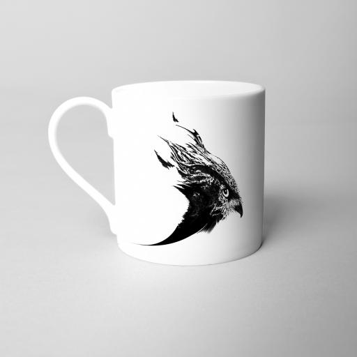 Hawk Fine Bone China Mug