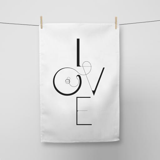 Love Cotton Tea Towel