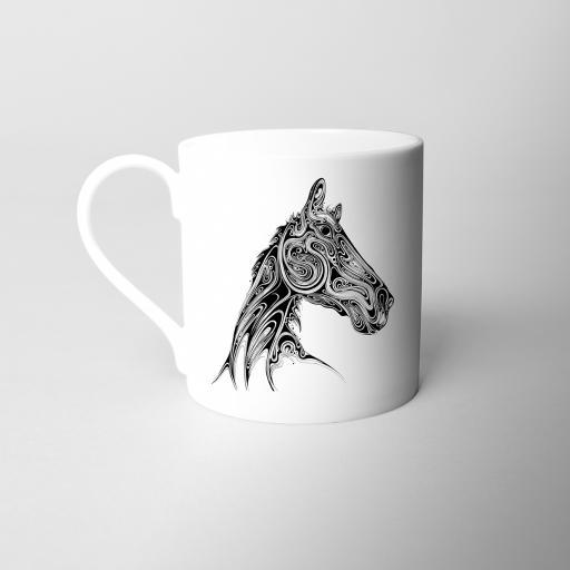 Horse Fine Bone China Mug