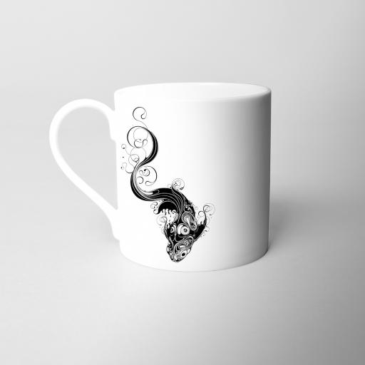Koi Fine Bone China Mug
