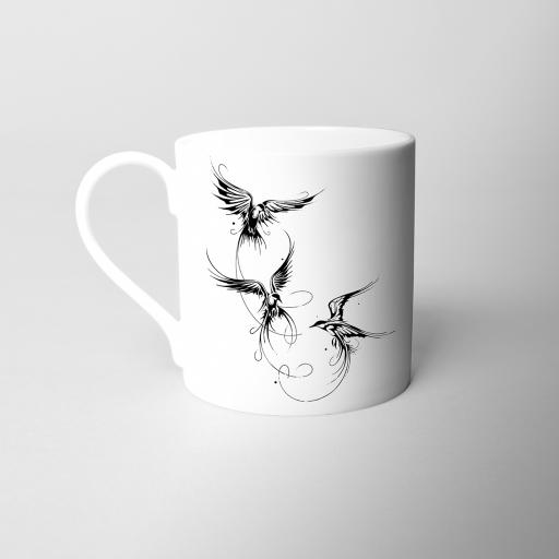 Birds Fine Bone China Mug