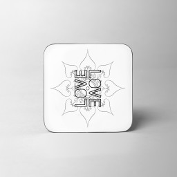 Love Pattern Coaster White Background.jpg