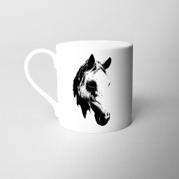 Horse's Head Fine Bone China Mug Si Scott WB.jpg