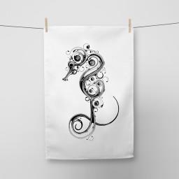 Seahorse Tea Towel Si Scott WB.jpg