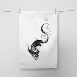 Koi Tea Towel Si Scott WB.jpg