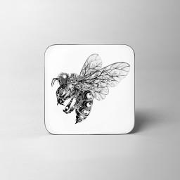 Bee Coaster White Background.jpg