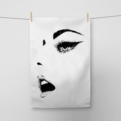 Woman Tea Towel Si Scott WB.jpg