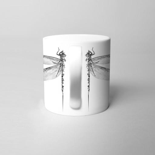Dragonfly Handle Fine Bone China Mug Si Scott WB.jpg