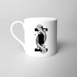 Si Scott 'I' Alphabet Initial Monogram Fine Bone China Mug.jpg
