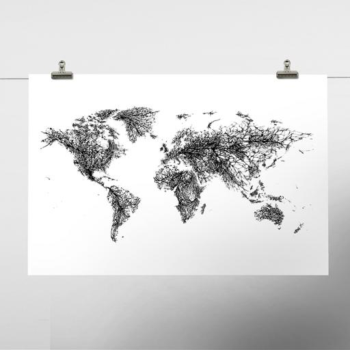 Fragile Earth Print