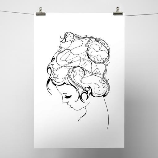 Girl Print