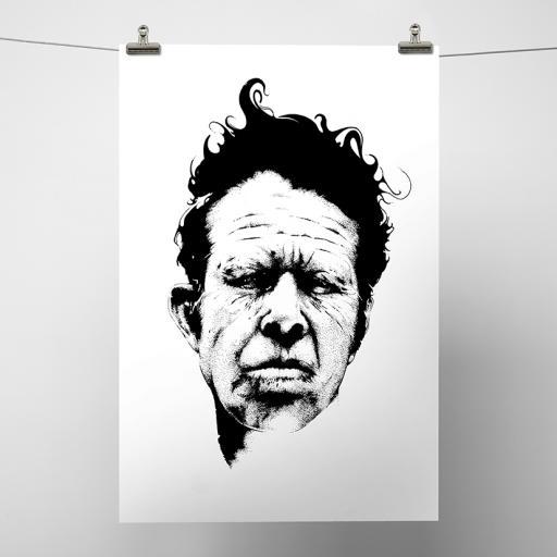 Tom Waits Print