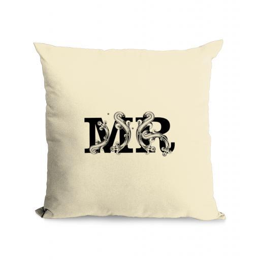 Mr Cotton Canvas Cushion