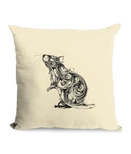 Rat Cotton Canvas Cushion.png